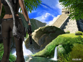 My third Blender render - 2 by Lara-Croft-En-Force