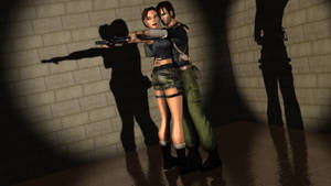 Kurtis Trent and Lara Croft 2 by Lara-Croft-En-Force