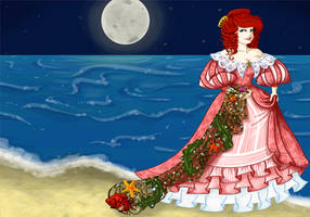 1830s Little Mermaid by labrattish