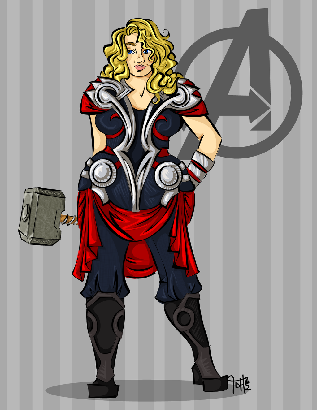 Torny Thor by labrattish