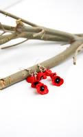 Poppy Earrings by polgabice