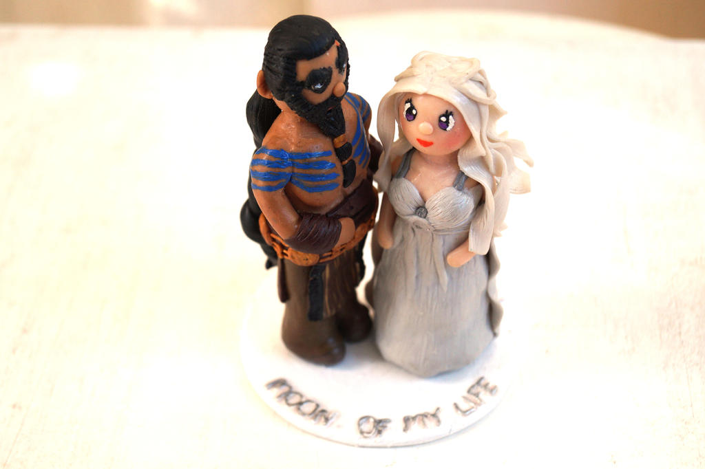 Game Of Thrones Wedding Cake Topper Drogo