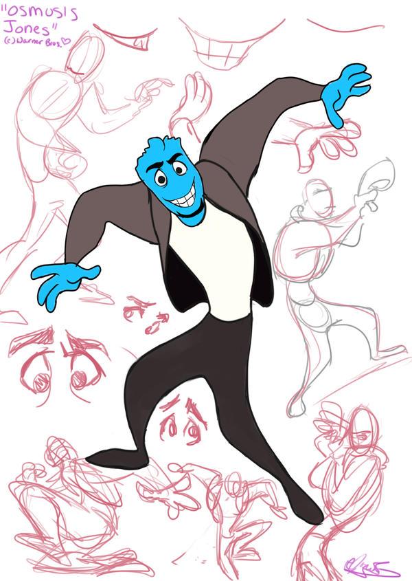 Osmosis Jones sketches...