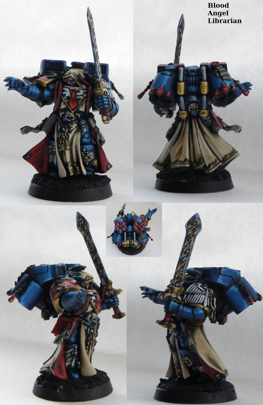 NMM Blood Angels Librarian by will-i-am119