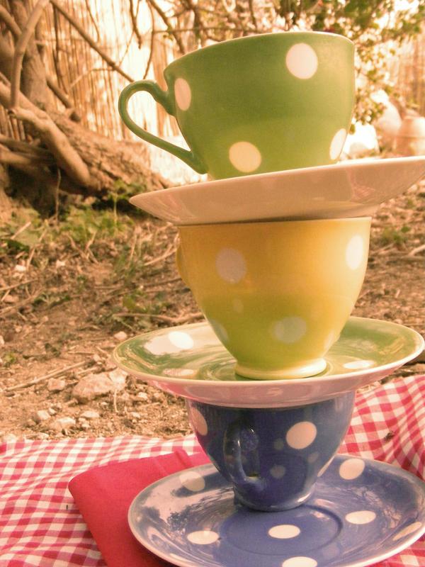 the tea party by francescagalea