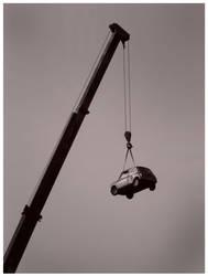 suspended in midair by francescagalea
