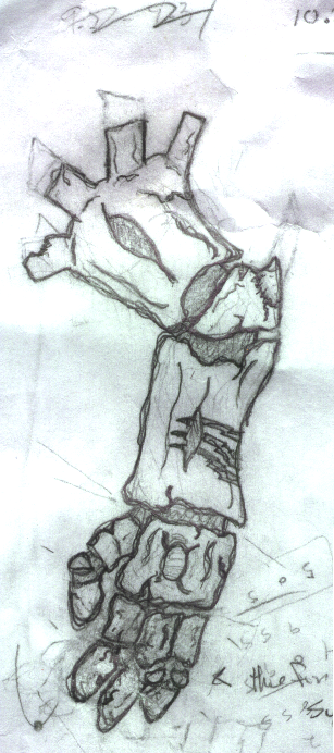 Wood Arm Art ~ Wood golem arm disgaea by crow of the abyss on deviantart