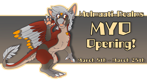 GRAND OPENING: Melmaati MYO Event! CLOSED by VEN1AS