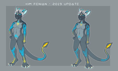 Kim Fenian - 2019 update by VEN1AS
