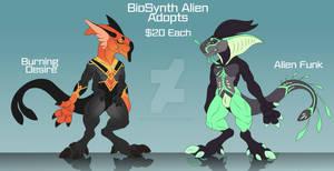 Biosynth Alien Adopts: 2/2 OPEN