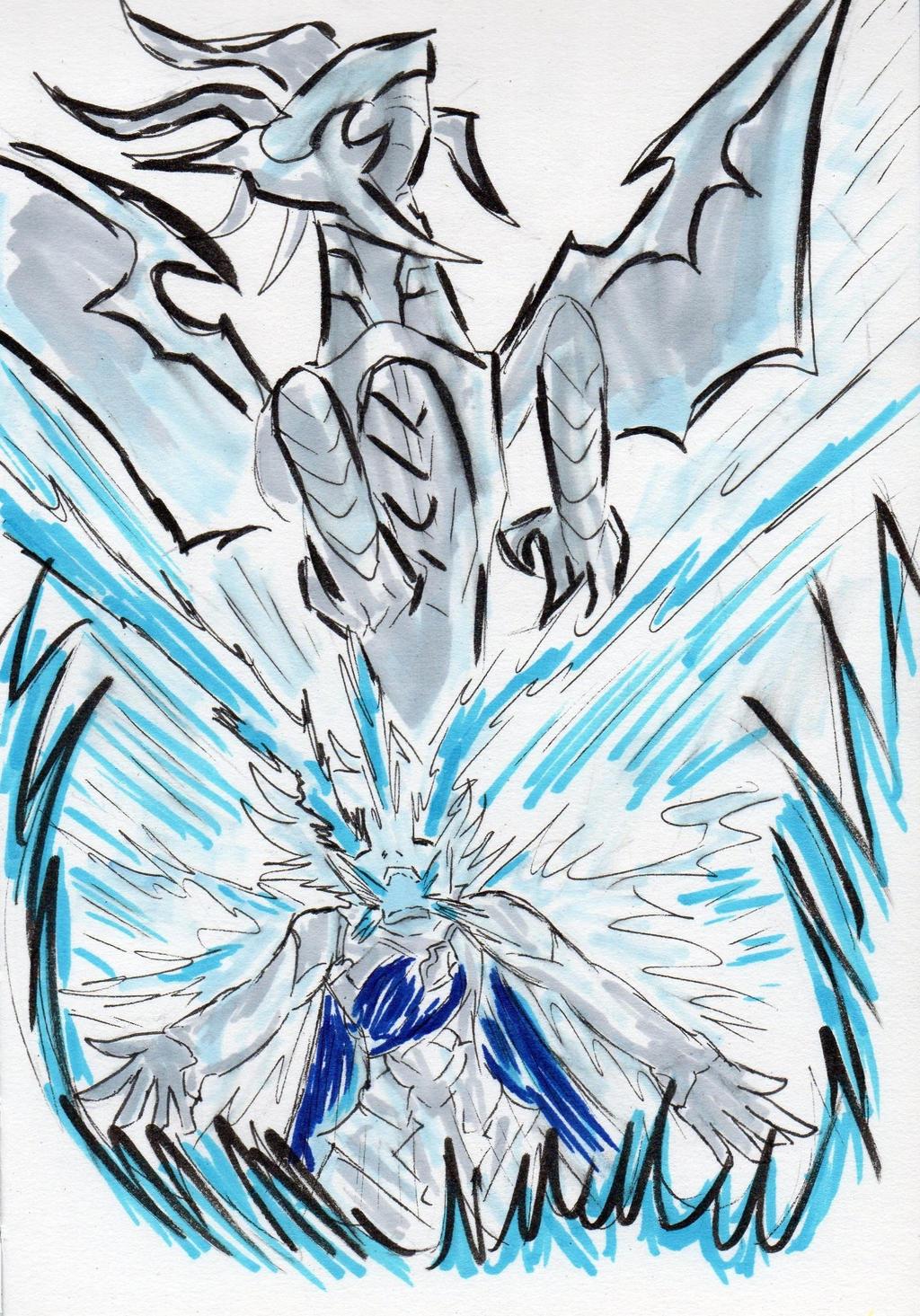 Kamui's Dragon Transformation by ironherc on DeviantArt