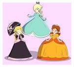(Commission) Princess Trio