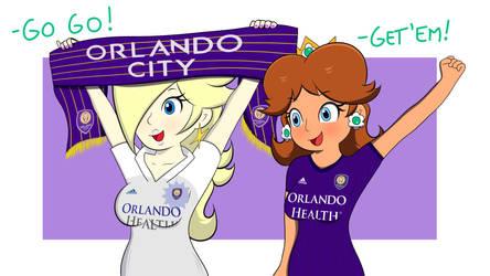 (Commission) Rosalina And Daisy -Orlando City-