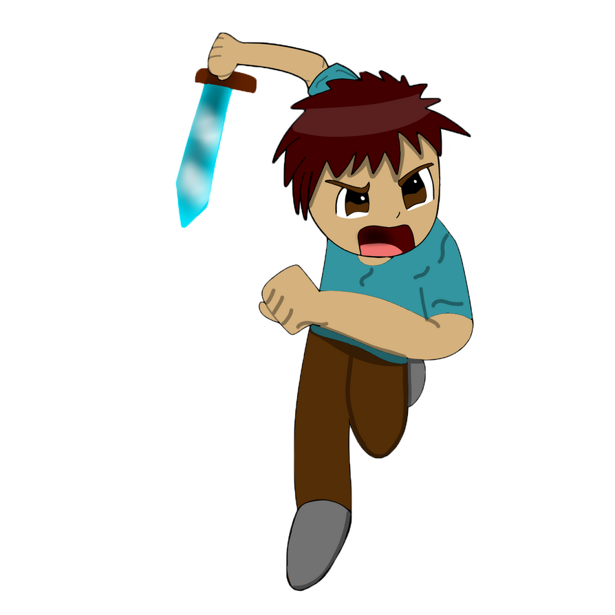 Chibi Minecraft Steve by HDDoesGaming on DeviantArt