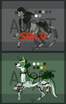 OPEN [1/2] Flatsale Wolf Adoptables #4