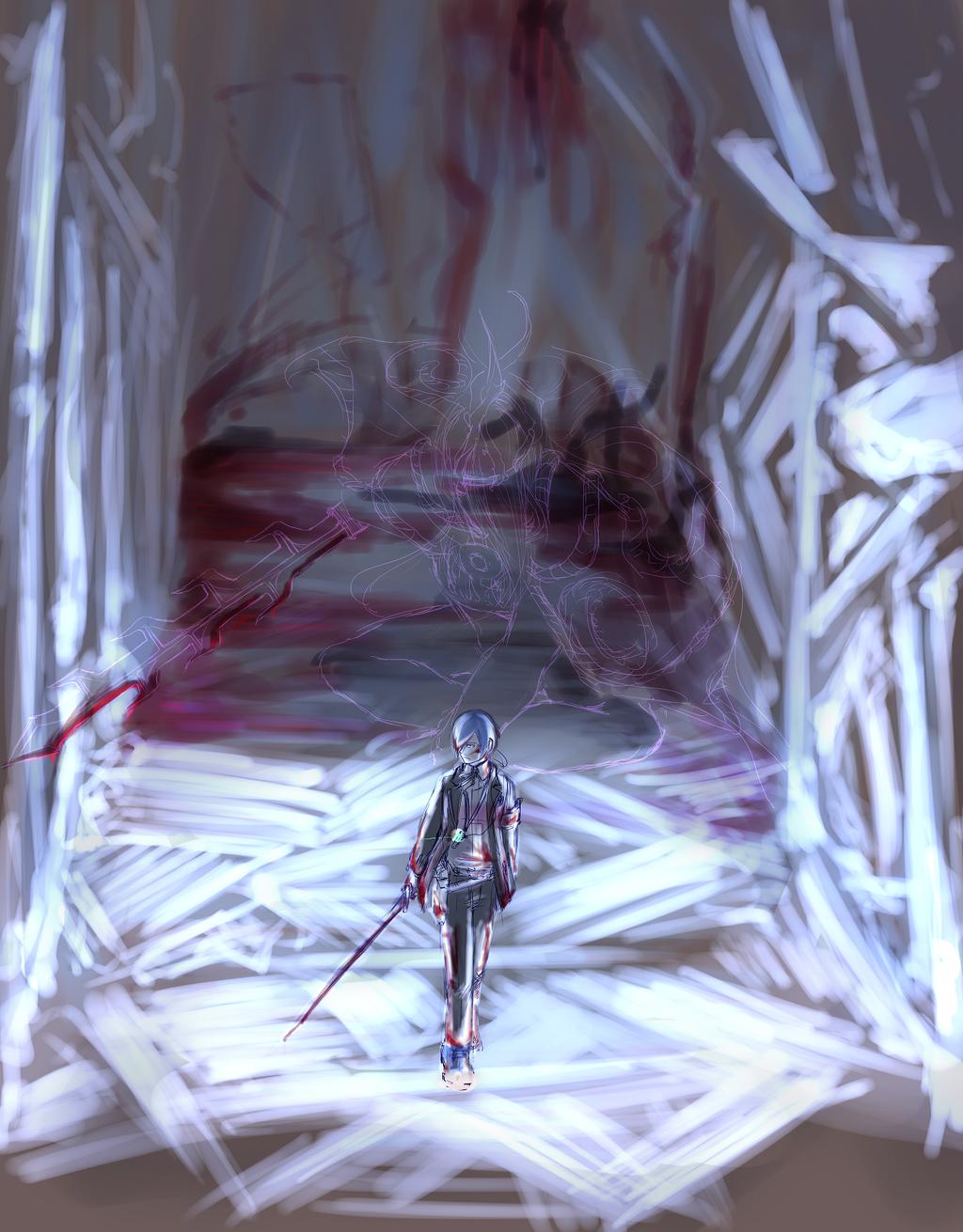 Persona 3 - Adamah by bahamutneo