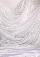 White Drapes Backdrop