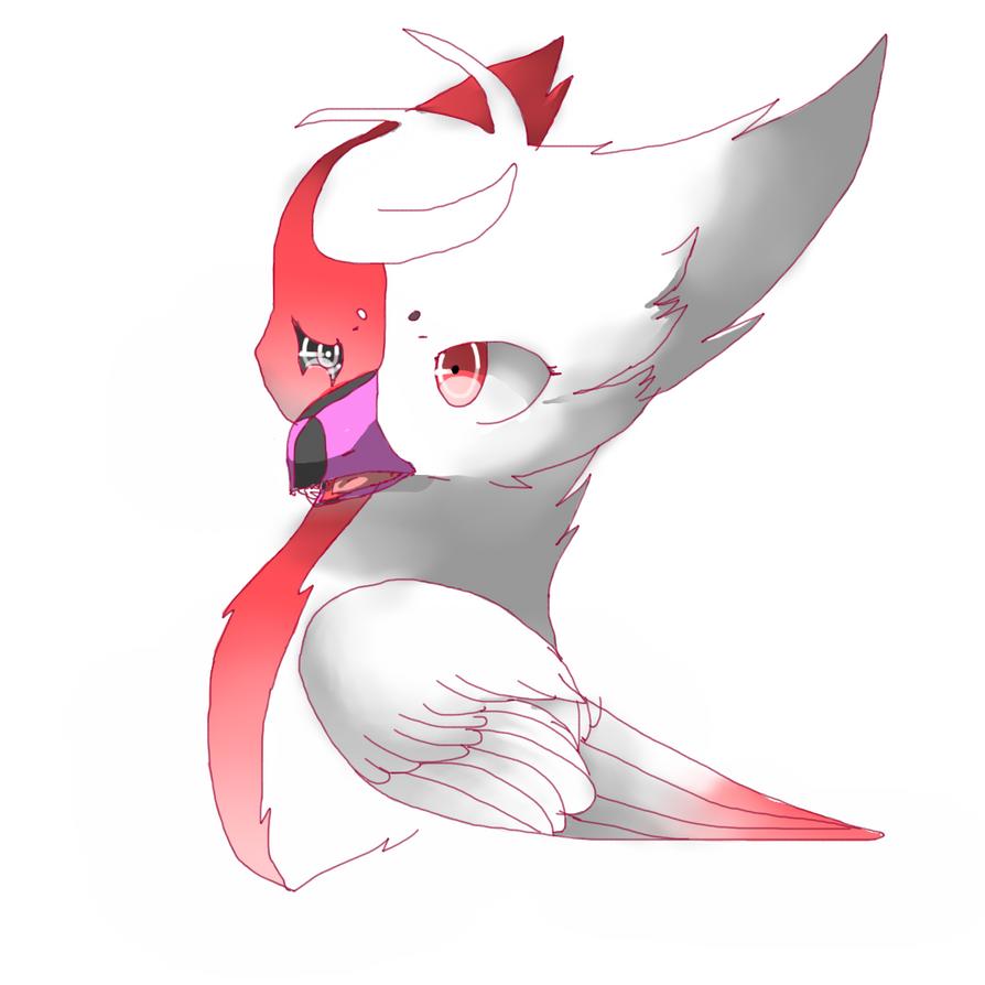My Griffin oc by DespairGriffin