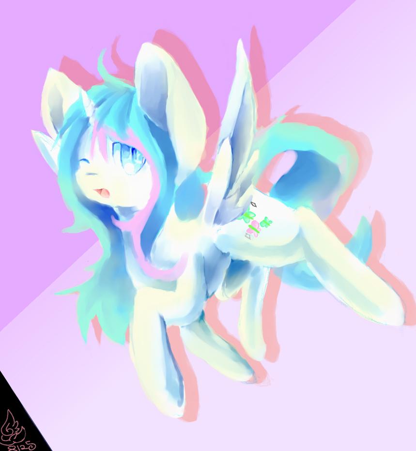 Starlight Twinkle: Flight by DespairGriffin