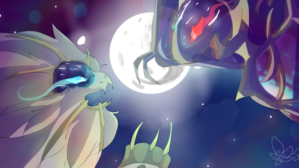 Sun and Moon by DespairGriffin