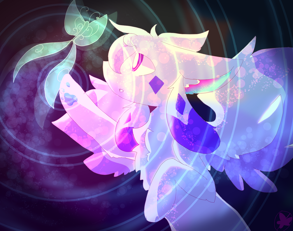 {SpeedPaint}Sight of the Butterfly by DespairGriffin