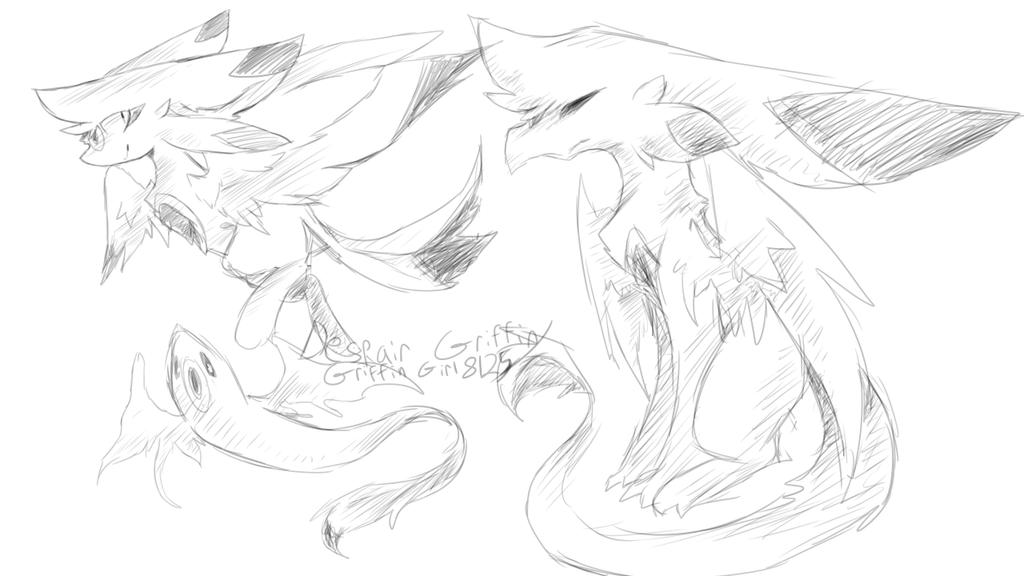 Soar Oc Sketch by DespairGriffin