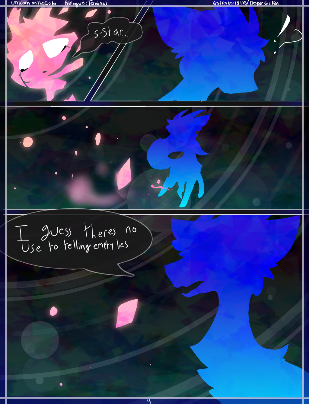 [4] Unicorn on the Cob Prologue: TERMINA by DespairGriffin