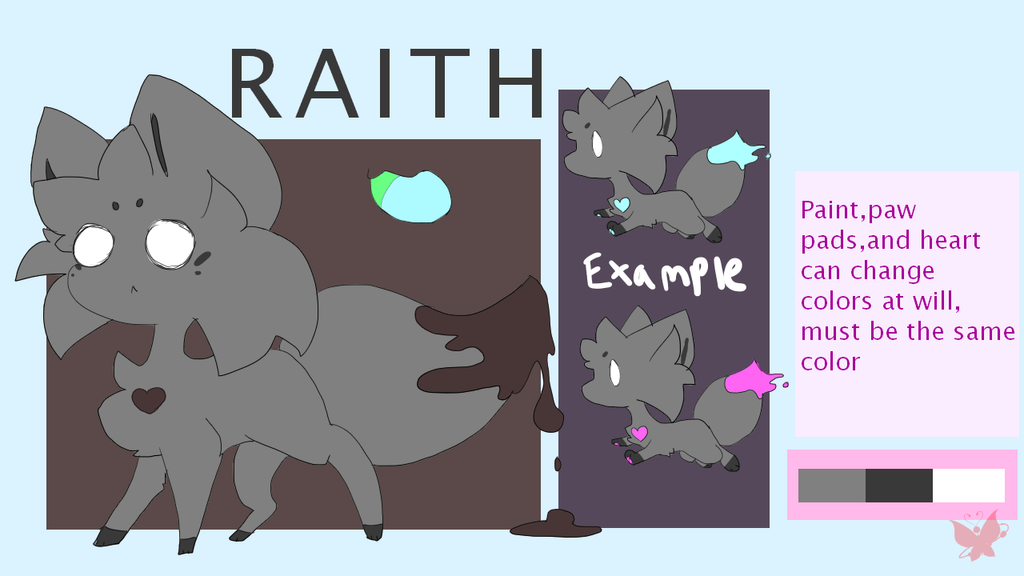 [CONTEST ENTRY] Raith with Paint by DespairGriffin