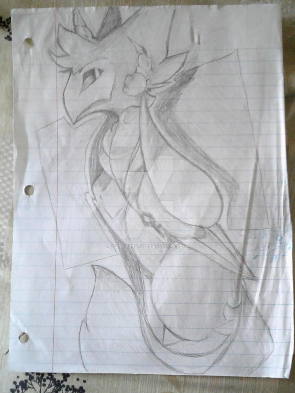 A random doodle by DespairGriffin