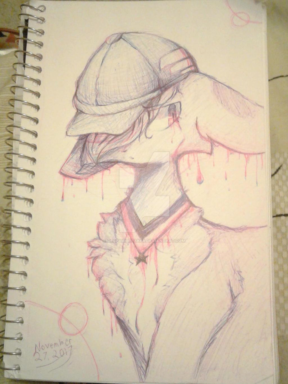 [Sketchbook] Shuichi by DespairGriffin