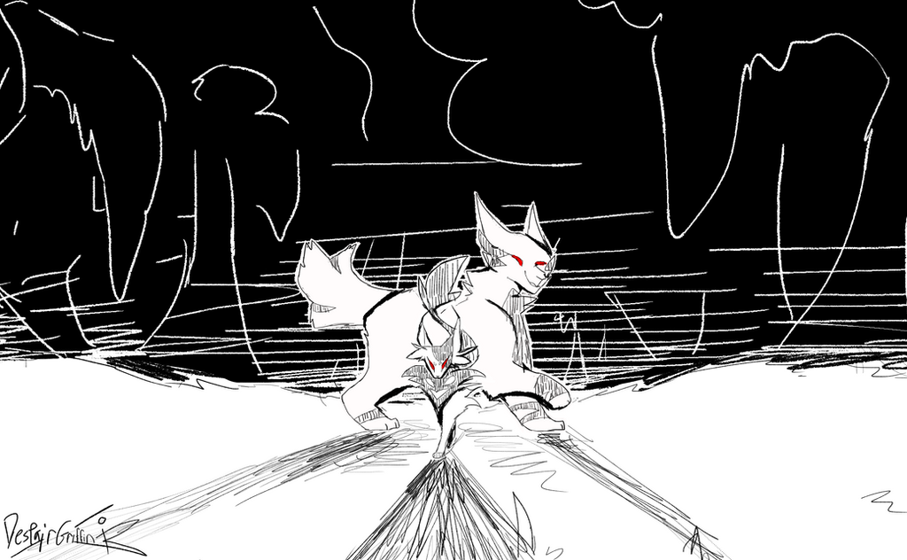 [Warrior Cats]Go Go Ghost Ship by DespairGriffin
