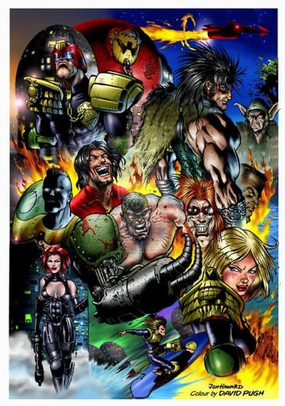 2000ad 39 yrs old today  by Johnny-Retro65