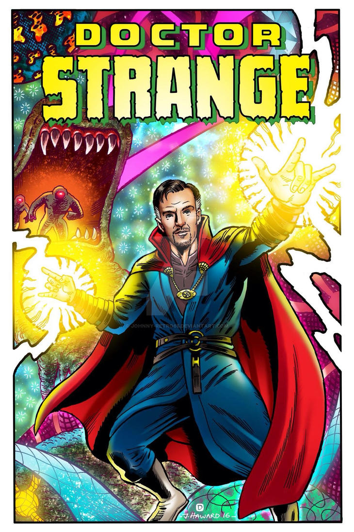 Dr Strange commission  by Johnny-Retro65