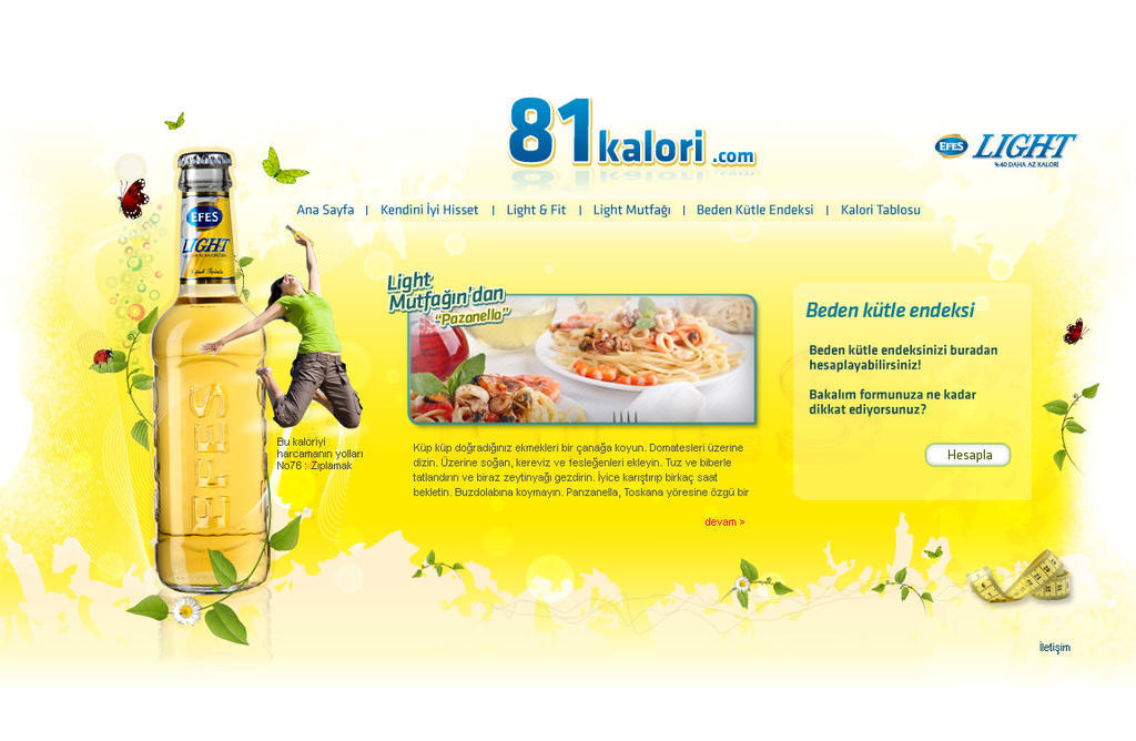 Efes light 81 kalori by feartox