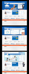 f.bank web design by feartox