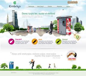 embriyo web design by feartox