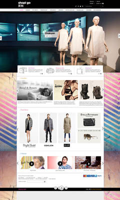 shop igo demo web design