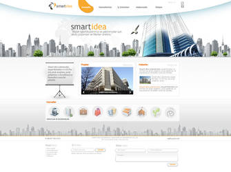 smart idea web design by feartox