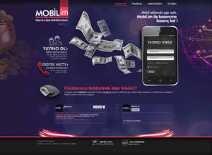 Mobil.im web design