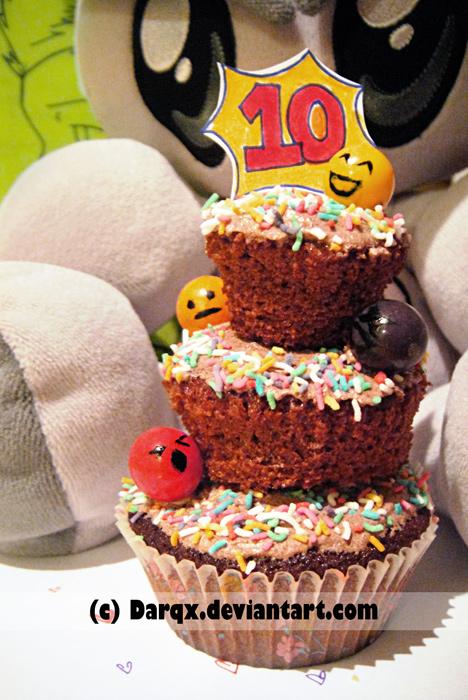 Cupcake of stress... by Darqx