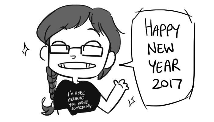 Happy-new-yr-2017 by Darqx