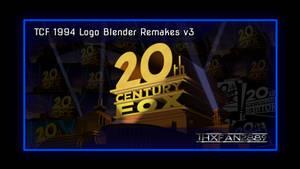 20th Century Fox 1994 Logo Blender Remakes V3