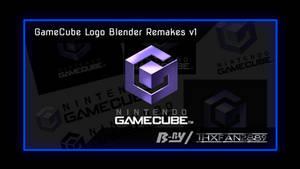 Nintendo GameCube Logo Blender Remakes v1