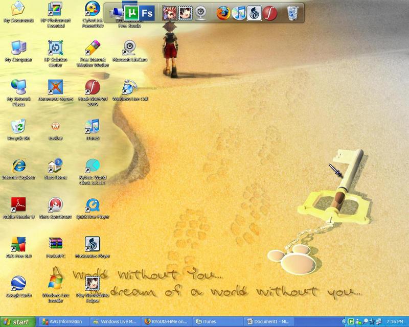 Desktop-san V.2 by KYoUta-HiMe