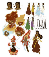 Lenka Redesign by Amyln