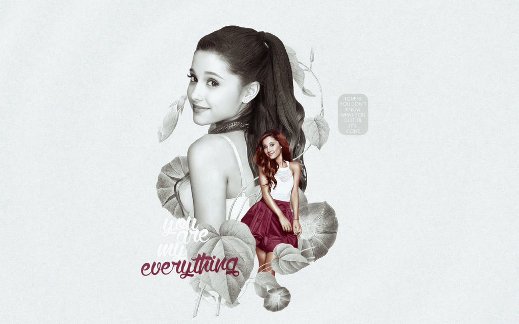 Ariana Grande Wallpaper - request by adangerouscreature