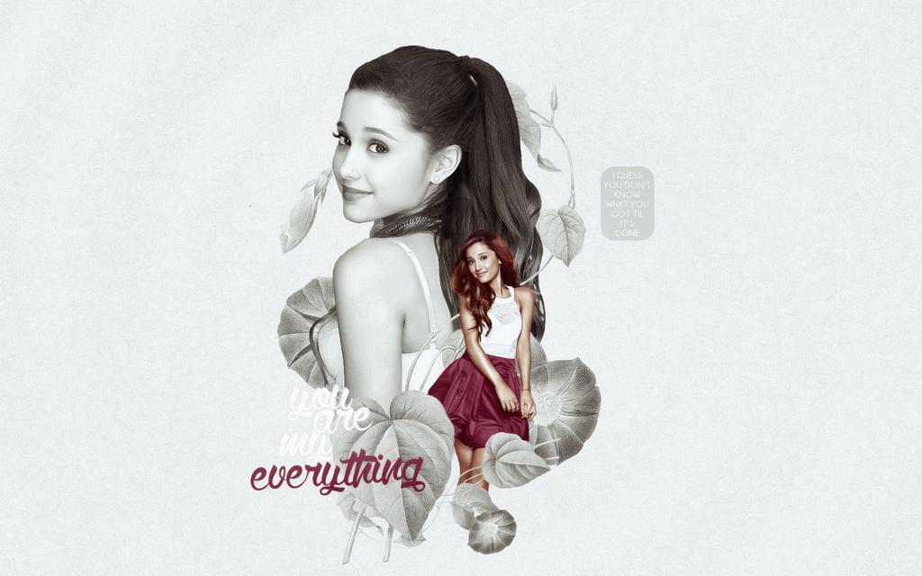 Ariana Grande Wallpaper - request by adangerouscreature