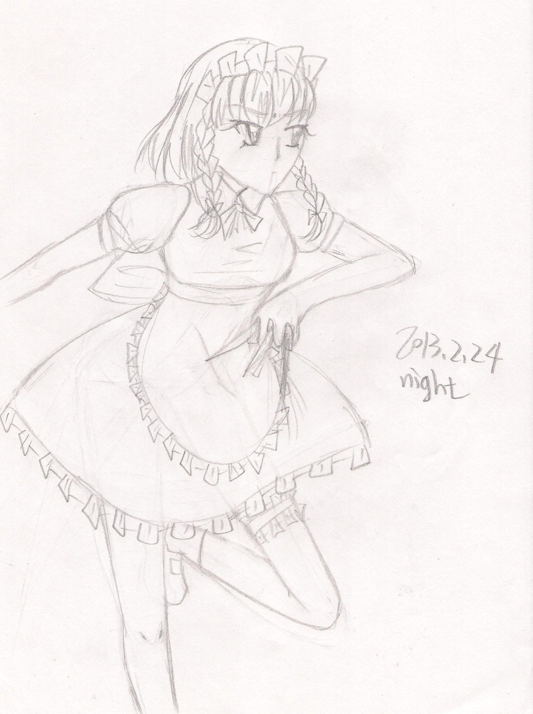 Sakuya by Renny1998