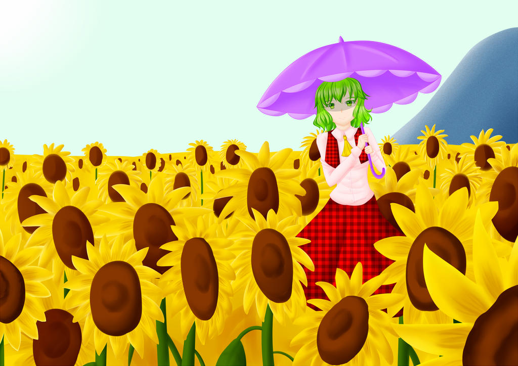 Sunflowers by Renny1998
