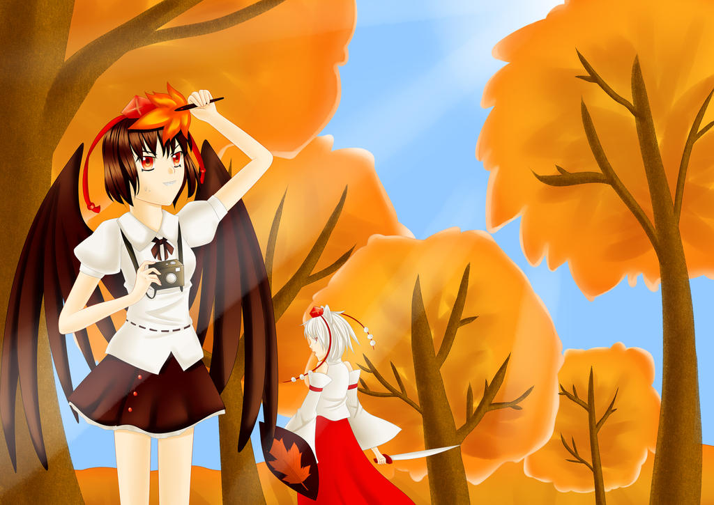 Autumn in Gensokyou by Renny1998